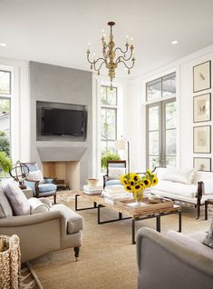 white decor living room. Key Look  1 French Industrial White DovesChic Living RoomFrench Dear Internet HERE S How to Build a Fireplace Mantel