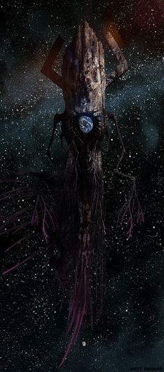 Scarier Lovecraftian Version of Galactus by Matt Rhodes