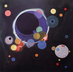 Wassily Kandinsky, Several Circles, 1926. Oil on canvas. New York, The Solomon R. Guggenheim Museum.