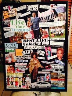 My Vision Board for 2015!! Can't wait to see it all happen!! 2015 I'm Ready!!
