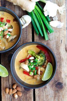 Vegan Vegetable Coconut Curry