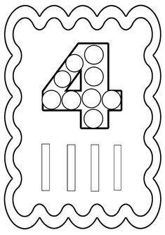 chiffre 4 à colorier ou à gommettes. Imprimer en fichier PDF cliquez : .acrobat.com. Chiffres de 0 à 10 : -ici- Coloriage avec l'alphabet cliquez :-ici- .je vous demande de vous ...