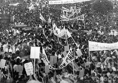 Campanha de Getúlio Vargas para as eleições presidenciais de 1950. Manaus (AM), 25 ago 1950.