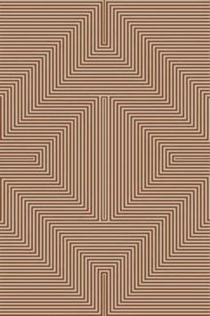 Nasir Hand-Woven Brown Area Rug