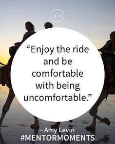 Enjoy the ride. #MentorMoments @College Fashionista Amy Levin