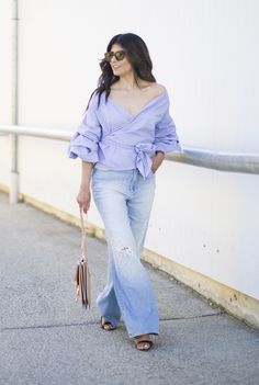 Outfit | An Elevated Way To Wear Wide Leg Jeans w/ Cheap Monday  Why I Skipped Berlin Fashion Week