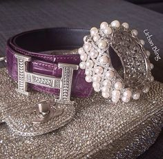 Chanel, Hermes, diamonds and pearls!