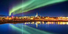 Santa left contrails over Reykjavik on his trip departing from the North Pole! #NORADTracksSanta    Cynthia Reynolds (@CindyReynolds) | Twitter