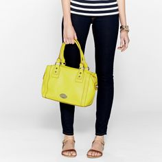 FOSSIL® Handbag Collections Marlow Handbags:Women Marlow Satchel - I'm dreaming of this bag.  It's perfect.