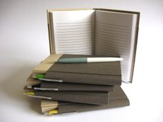 4 x 6 Retro Pen Journal with Lined Pages