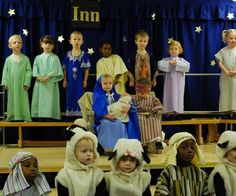 Christmas nativity childrens play