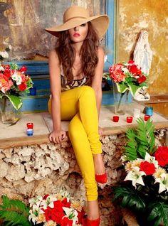 c84e49e6406 boldness + beauty Yellow Fashion