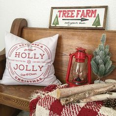 Rustic farmhouse Christmas (Instagram: nellyfriedel)