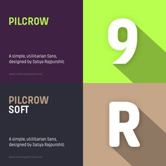 Pilcrow and Pilcrow Soft by Indian Type Foundry
