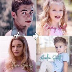 Hardin and Tessa's babies 🤧❤️… Hardin Scott, After Movie, Hessa, Romance Movies, Cute Family, Movies 2019, My Forever, Celebs, Celebrities