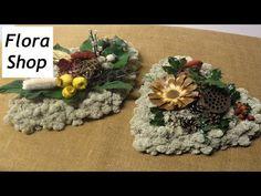 Trauerfloristik: Allerheiligengesteck mit Islandmoos selber machen ❁ Deko Ideen mit Flora-Shop - YouTube
