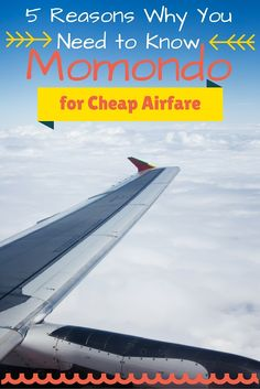 5 Reasons Why You Need to Know Momondo for Cheap Airfare (Visited 96 times, 1 visits today)