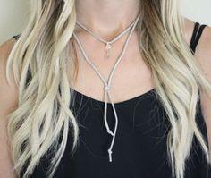 tan suede choker clear quartz pendant https://www.etsy.com/listing/453425190/tan-faux-suede-choker-necklace-one-clear