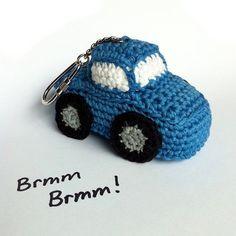 Car Key Fob / Car Key Chain / Car Bag Charm / Eco-friendly Gift / Eco-friendly Key Fob / Eco-friendly Bag Charm