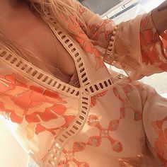 Details of the beautiful Barcelona Dress, a new arrival from our Fall Collection ✨✨ #forloveandlemons #gypsydreamer