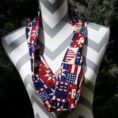 http://ift.tt/1K5wyzr #giftshop #gifts #patriotcscarf #patriot #fashionista #giftsforher #redwhiteandblue #etsyonsale #etsy