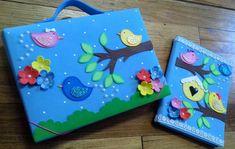 File Decoration Ideas, Diary Decoration, Preschool Classroom Decor, Preschool Crafts, Easy Crafts For Kids, Diy And Crafts, Folder Decorado, Exam Wishes, Eid Crafts