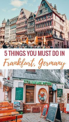 5 Things You MUST Do in Frankfurt Germany - The Traveling Spud - Meredithknestors - 5 Things You MUST Do in Frankfurt Germany - The Traveling Spud european travel essentials - Leipzig Germany, Frankfurt Germany, Bonn Germany, Germany Berlin, East Germany, Cool Places To Visit, Places To Travel, Travel Destinations, Travel Things