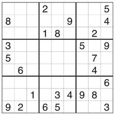 photo regarding Printable Sudoku Pdf identified as uncomplicated printable sudoku -