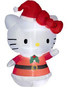 Hello Kitty Christmas inflatable for your yard