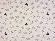 Origami Birds Linen T72