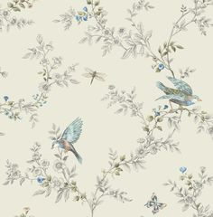 Heligan Cream Wallpaper | Departments | DIY at B&Q