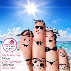 👉Mutlu Parmaklar! 😍 Erken Rezervasyon Fırsatlarıyla Yerinizi Şimdiden Ayırtın! 😎 www.Tatildukkani.com Erken Rezervasyon seçenekleriyle tatilinizi hemen ayarlayın. Bütçeniz rahatlasın! ➡️Hemen Rezervasyon için: http://bit.ly/2psVG2t ☎️ 444 10 31'den bize ulaşabilirsiniz. 💞 Unutmayın Mutluluğunuz için; ✔️Tatile Hep Açığız! #TatileHepAçığız