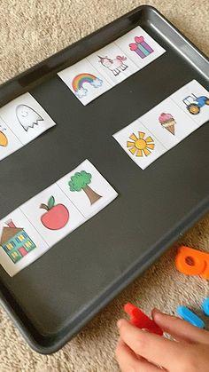 Baby Learning Activities, English Activities For Kids, Nursery Activities, Preschool Activities, Preschool Phonics, Reading Games For Kindergarten, Phonics For Kids, Alphabet Phonics, Phonics Games