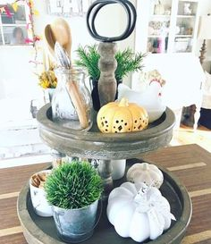 *PRE-ORDER ONLY* Trays are expected to ship late February to early March. Looking for that perfect tiered tray for a coffee bar or a guest bathroom? This is that tray! So versatile for all those decor