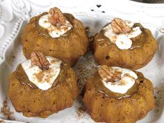 Mini Pumpkin Cakes Recipe | The Old Hen Bed & Breakfast and Blog