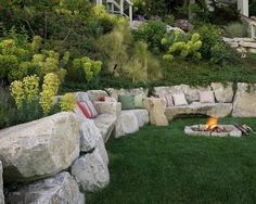 landscaping ideas for slopes | Yard Ideas / Steep Slope Landscaping Design