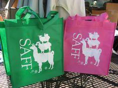 Grocery Totes, Southeastern Animal Fiber Fair
