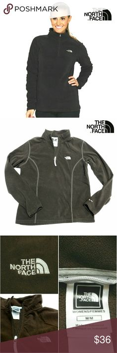 """💕HP💕THE NORTH FACE HALF ZIP """"FLIGHT SERIES""""  TOP 💕HP 2/1217💕 """"Comfy, Cozy & CHIC Party""""  THE NORTH FACE HALF ZIP """"FLIGHT SERIES"""" BROWN PULLOVER Pre-Loved  / EUC / RN 61661 SZ M/M See Detail on Last Pic Approx Meas; *   Armpit to Armpit   20"""" *   Neckline to Neckline L   23"""" *   Sleeve Length  20"""" Pls See All Pics. Ask ? If Not Sure The North Face Jackets & Coats"""