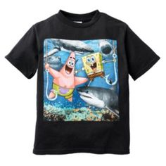 SpongeBob SquarePants Shark Tee - Boys 4-7