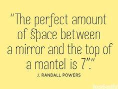 Mantel Tip