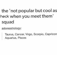 Zodiac Signs and Coool