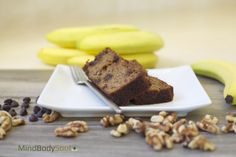 Banana Bread with Chocolate Chips and Walnuts  http://www.mindbodysoulblog.net/#!banana-bread/c2qw