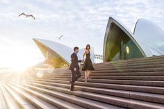 anniversary portraits at Circular Quay (love this photographer)
