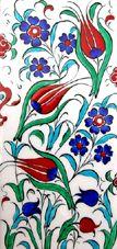 Osmanlı Saray Çinileri İznik Duvar Panoları Turkish Tile Art Karoları