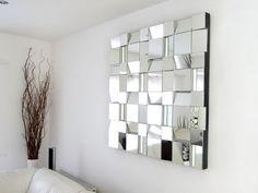 Patchwork de petits miroirs