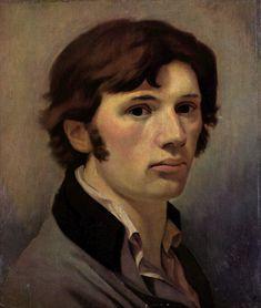 Otto Runge  Autorretrato propio de un romanticista: cabello despeinado, camisa desabrochada Romanticismo alemán