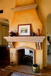 Mexican Style Fireplace - Bing images Adobe Fireplace, Stucco Fireplace, Brick Fireplace Makeover, Fireplace Design, Fireplace Ideas, Mantle Ideas, Bedroom Fireplace, Fireplace Mantel, Spanish Style Homes