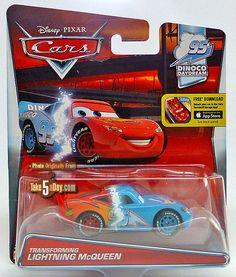 Mattel Disney Pixar CARS: Transforming Lightning McQueen