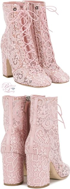 Brilliant Luxury by Emmy DE ♦ Laurence Dacade Milly Lace Boots