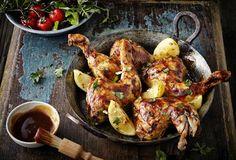Einfach Lecker » American Smokey Chicken Legs » Finden Sie leckere Rezeptideen für jeden Tag, die Ihnen das tägliche Kochen leichter machen. » Einfach Lecker